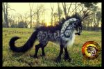 SOLD  Hand Made Posable Prehistoric Tundra Stag! by Wood-Splitter-Lee
