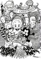 Christmas 2012 by asoulofanartist
