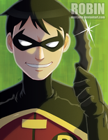 Young Robin of Justice by marcotte