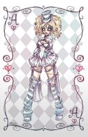 Crazy Alice Character by NoFlutter