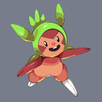 Chespin Sketch