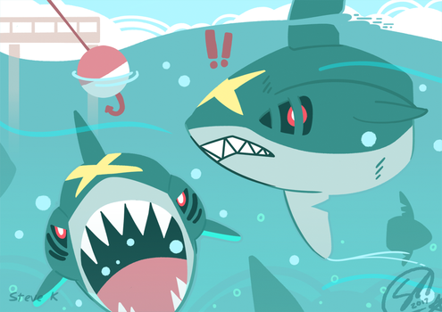 Sharpedo Week by SteveKdA