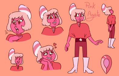 Pink Agate by Paryficama