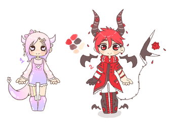 Random Adopts : CLOSED by Crowsh