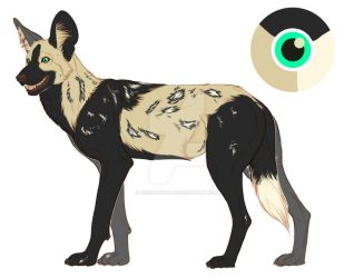African painted dog adopt[closed] by Asenagowild