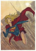 Supergirl Rebirth by Ceduardocunha