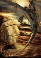 Dragon Attack by soys