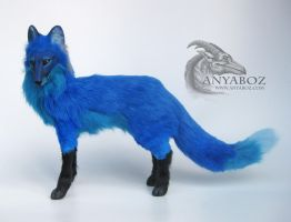 Lapis Fox Room Guardian by AnyaBoz