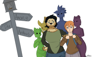Among The Anthros (Teaser) by WolfbalooDraws