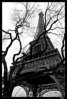 Rough and Lines - Eiffel I by Elwinga