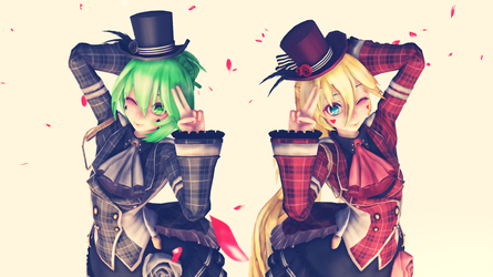 Tda Poker Gumi and Lily Model DL by Ame101273