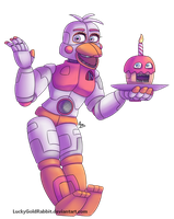 Funtime Chica by LuckyGoldRabbit