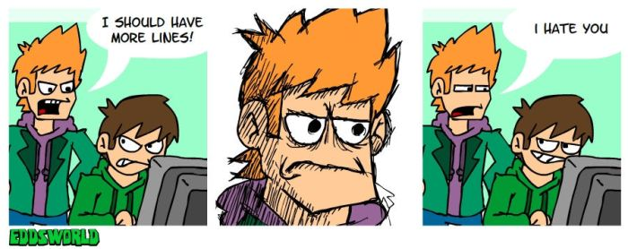 EWCOMIC No.81 - Lines by eddsworld