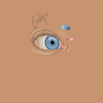 Eye Practice by horseluv01