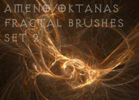 Great fractal brushes set 2 by Oktanas