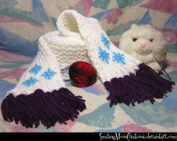 Rarity Scarf 1 by SmilingMoonCreations