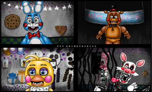 The toy animatronics by AxelBlizzard