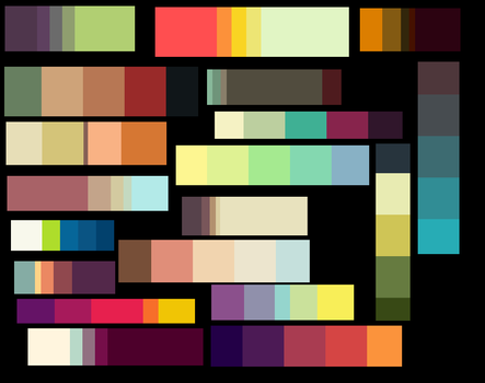 color pallet by mimmiley