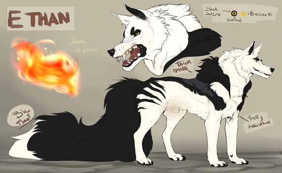 Ethan Flame Ref sheet 2017 by MaraMastrullo