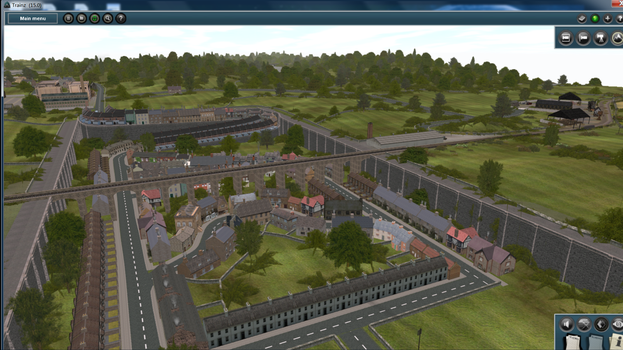 Overall Town and Viaduct Look by AtheMighty