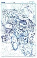 INVINCIBLE TPB 18 cover pencils by RyanOttley