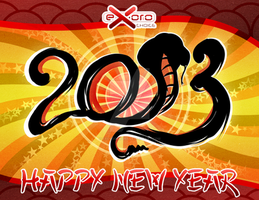 Exoro Choice's 2013 Chinese New Year Cards 01 by ExoroDesigns