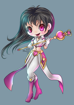 Cleric LOVE 6 ID Card by HarukArt