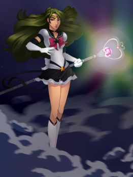 Eternal Sailor Pluto by The-Way-of-Hei