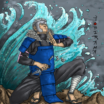 Tobirama (full color) by Oruescent