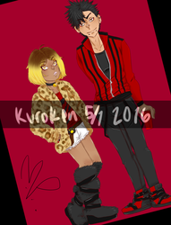 KuroKen Day 2016 by MoonKissedDreamer