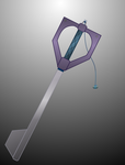Key (Maud pie Keyblade) by aniamalman