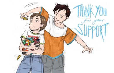 Thank you by Rikae
