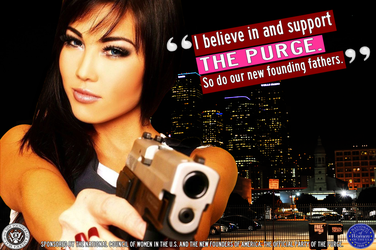 Women's Purge Support Billboard Ad by FearOfTheBlackWolf