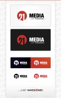 21MEDIA logotype .. by mat3jko