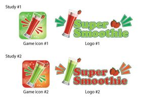 Super Smoothie App Logo Design by Click-Art