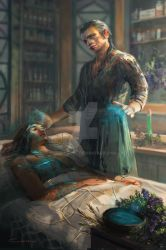 Elrond-the healer by conzitool