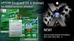 Upfone Leopard Theme for 3RD by brthtms