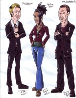 Doctor Who Character Sheet 2 by pythonorbit