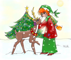 Merry Christmas 2013 by Kenshins-Soul