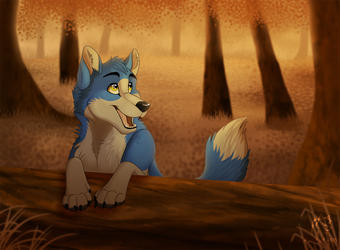 Wolveon's Forest by WindWo1f