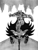 Bat-man by mrpulp-presenta