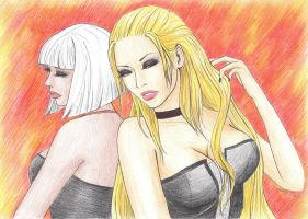 Trish and Gloria by Luxeona