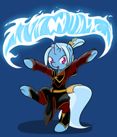 Trixie as Azula by TheParagon