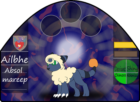 Ailbhe | female | absol/mareep by millemusen