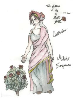 The Goddess of the Rose by Elriaen