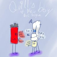 Quill's bby New Art Style by xXSilvrTheShipprXx