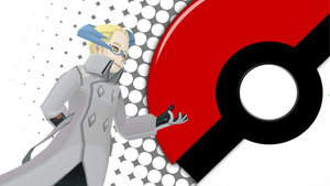 Pokemon Wallpaper - Colress by Colonelsonicmaster