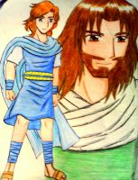 King Jesus and King David by e31