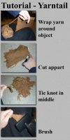 TUTORIAL Yarn Tail by luthien368