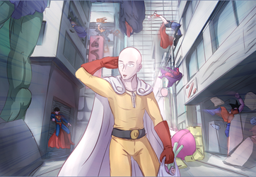 One punch by Drako9